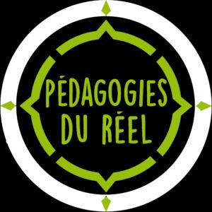 logo pédagogies du réel vert